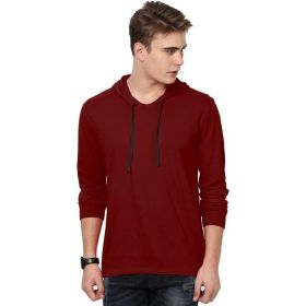 Katso Solid Men's Hooded T-Shirt