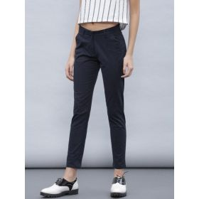 Ether Women Solid Flat-Front Trousers