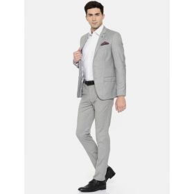 Arrow Grey Zero Fit Formal Suit