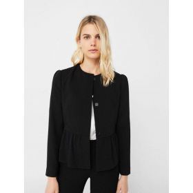 MANGO Black Single Blazer