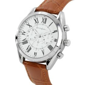 Mast & Harbour Unisex Analogue  White Watch