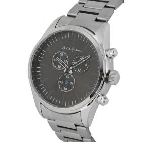 Mast & Harbour Unisex Analogue Gunmetal-Toned Watch