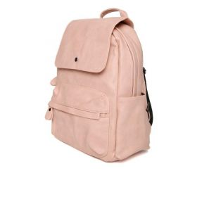 Mast & Harbour Peach-Coloured Women Backpack