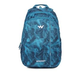 Wildcraft Men Graphic Blue Backpack
