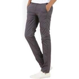 Peter England Men's Grey Trousers