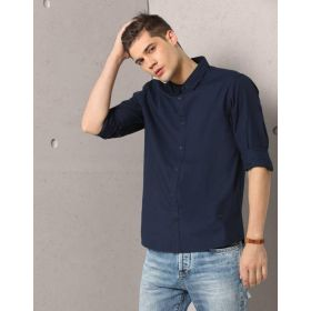 Metronaut Men's Solid Casual Shirt